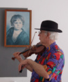 Violin play at Tractie