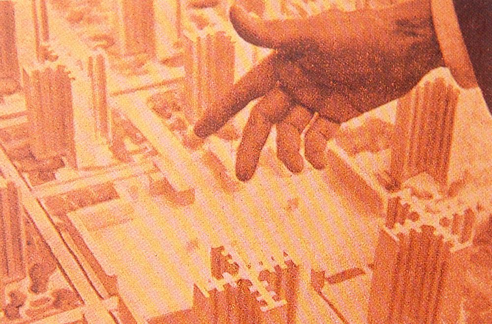 Le Corbusier hand kl