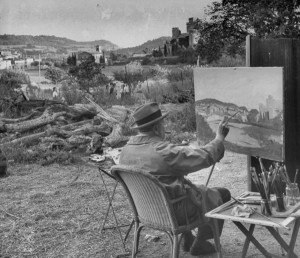 winston churchill essay on painting In 1947, aged 73, winston churchill wrote a curious little essay about his father painting alone in his studio, churchill imagines his father (who was 52 years dead at this point) appearing to him the two of them have a conversation.
