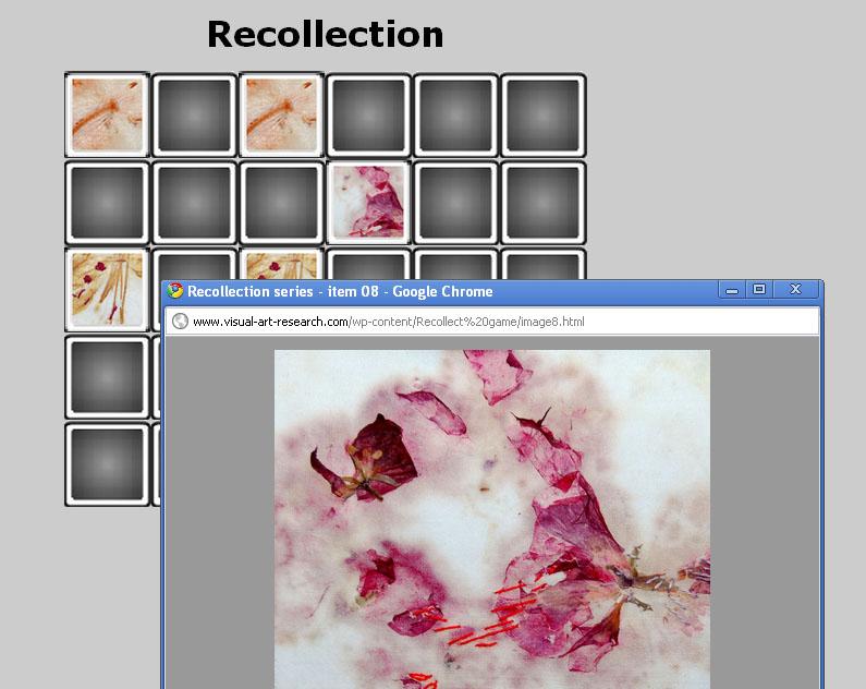 Recollection screenshot