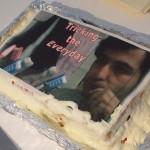 Farid on cake
