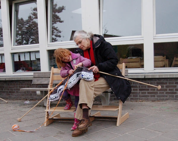 Action Knitting: Den Haag