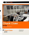 Chuck Close – Prints – Rotterdam March 2012