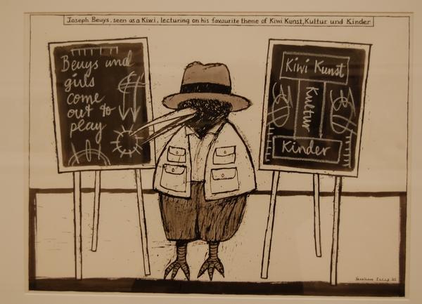 Graham Percy Kiwi Drawings 2