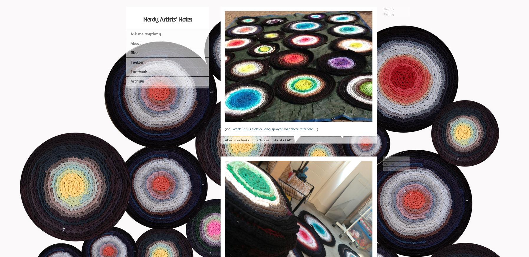 Nerdy Artists Blog