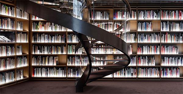 Voorlinden library